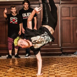 Breakdance teacher